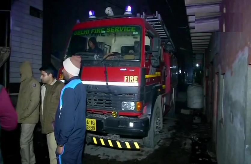 दिल्ली: किराड़ी इलाके में बड़ा हादसा, इमारत में आग लगने से 9 लोग जिंदा जले