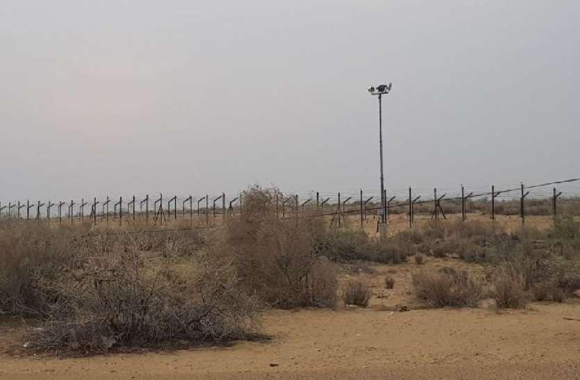 जैसलमेर में पाकिस्तान सीमा पर मिला सेटेलाइट फोन का सिग्नल,दो संदिग्ध दस्तयाब