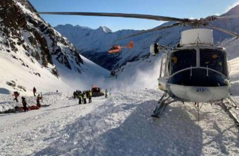 इटली: आल्प्स के वाल सेनालेस में स्कीइंग करने पहुंचे लोग, हिमस्खलन से 3 की मौत