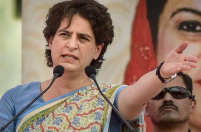 महंगाई आम जनमानस की तोड़ रही है कमर : प्रियंका गांधी