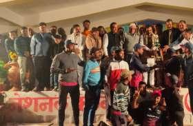 cricket tournament : नागौद ने सोनीपत हरियाणा को हराकर जीता खिताब