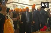 गुरु गोविंद सिंह जयंती पर पटना साहिब पहुंचे CM नीतीश कुमार, टेका मत्था, दी बधाई