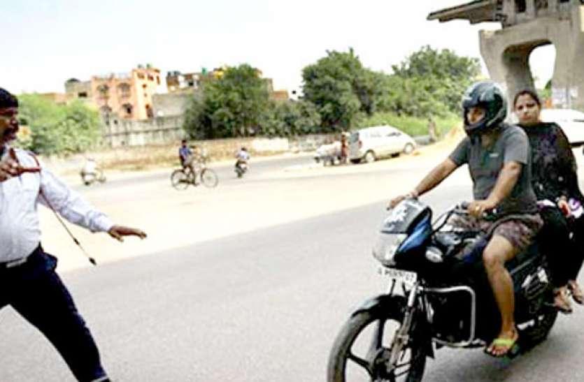 नशे की हालत में वाहन चलाने वालों पर पुलिस की नजर, 75 हजार का जुर्माना ठोका