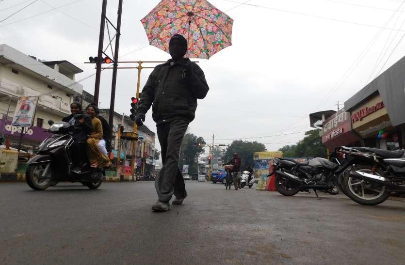 जिले में तीन दिनों से जारी है बारिश का सिलसिला