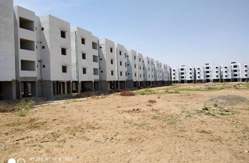 प्रधान मंत्री आवास योजना के 864 भवन बजट के कारण अटके