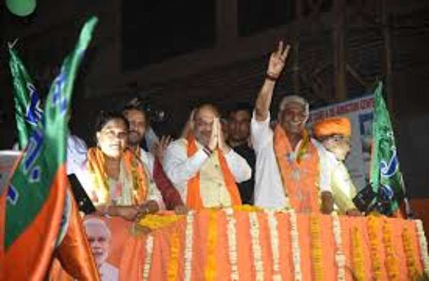 Amit Shah ने जोधपुर में किया था रोड शो