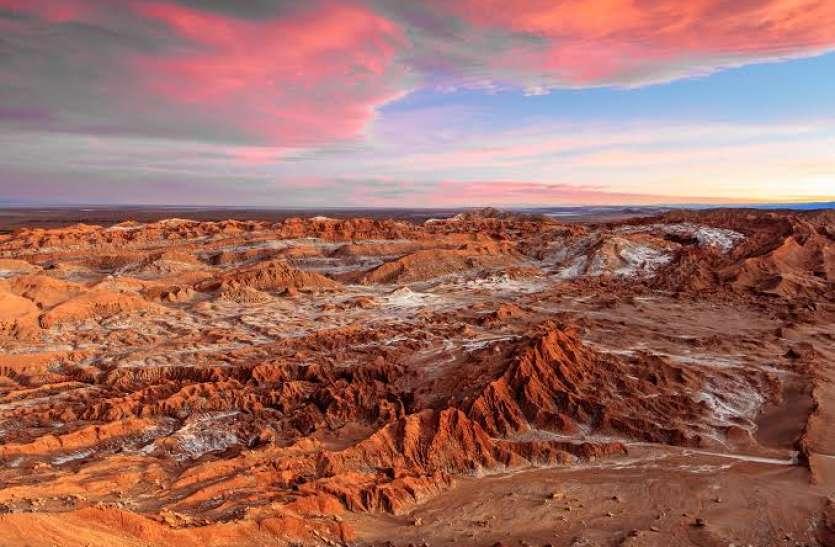 दुनिया में मिली ऐसी अजीबो-गरीब जगह जहां हैं मंगल ग्रह जैसे हालात