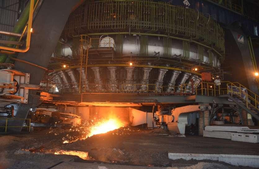 ब्लास्ट फर्नेस-8 में गैस रिसाव, बीएसपी के एक अफसर समेत 6 प्रभावित