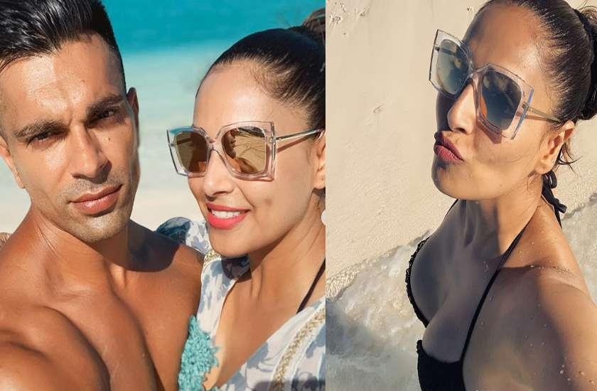 पति करण संग हॅाट अंदाज में पोज देती दिखीं बिपाशा, Beach पर रोमांस करता दिखा ये मशहूर कपल