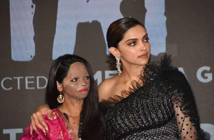 'छपाक' के टाइटल ट्रैक लॉन्च पर एसिड अटैक पीड़िता लक्ष्मी ने कही ऐसी बात- समाज का तो...