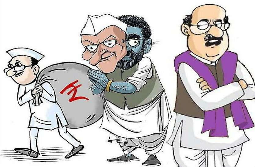 महापौर चुनाव को लेकर दुर्ग में कांग्रेस पार्षद दल में फूट, चार दावेदार बिना बताए दिल्ली रवाना