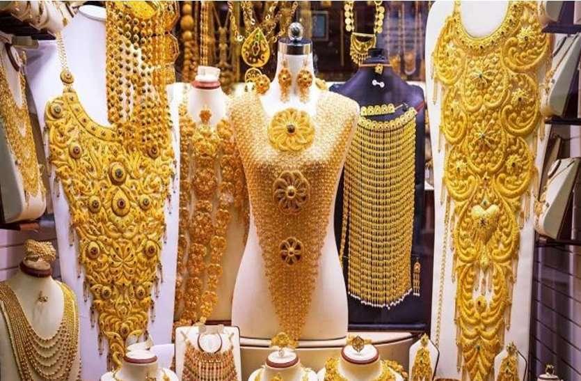 सोना पहली बार 41 हजार के पार, बनाया ऑल टाइम हाई का रिकॉर्ड
