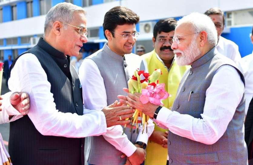 येडियूरप्पा को प्रधानमंत्री मोदी से मिली शाबासी