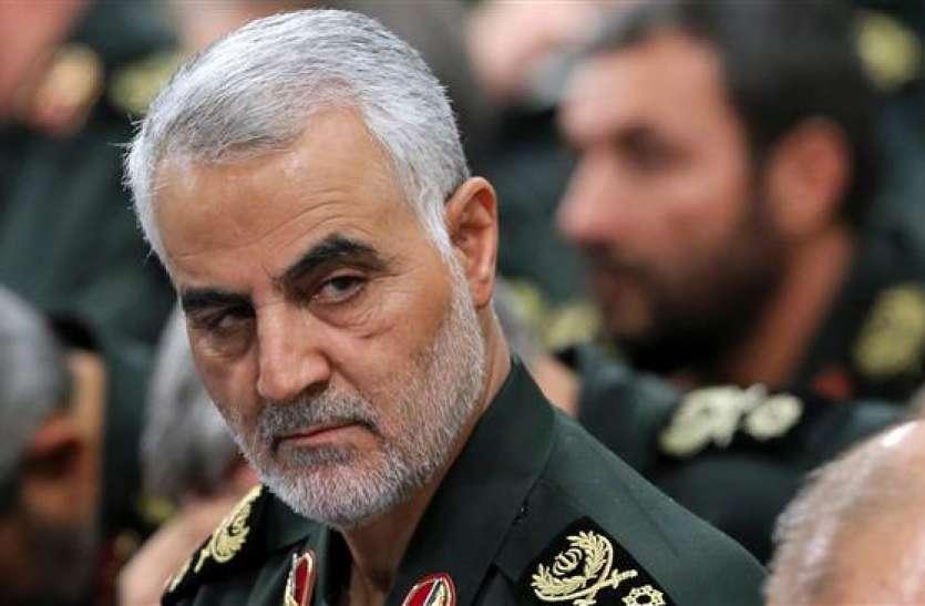 बगदाद में US दूतावास पर हमले का अमरीका ने लिया बदला, ईरानी जनरल कासिम सुलेमानी को मार गिराया