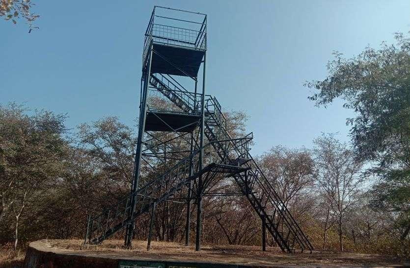 अब आसान होगी पर्यटकों की वॉच टावर तक पहुंच