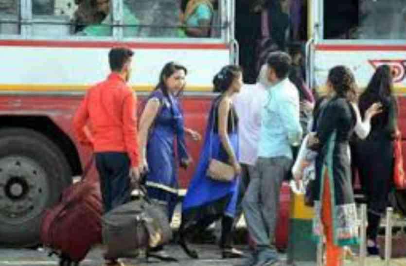 रोडवेबज बस के किराये में हुई भारी बढ़ोत्तरी, आधी रात के बाद नया किराया हुआ लागू