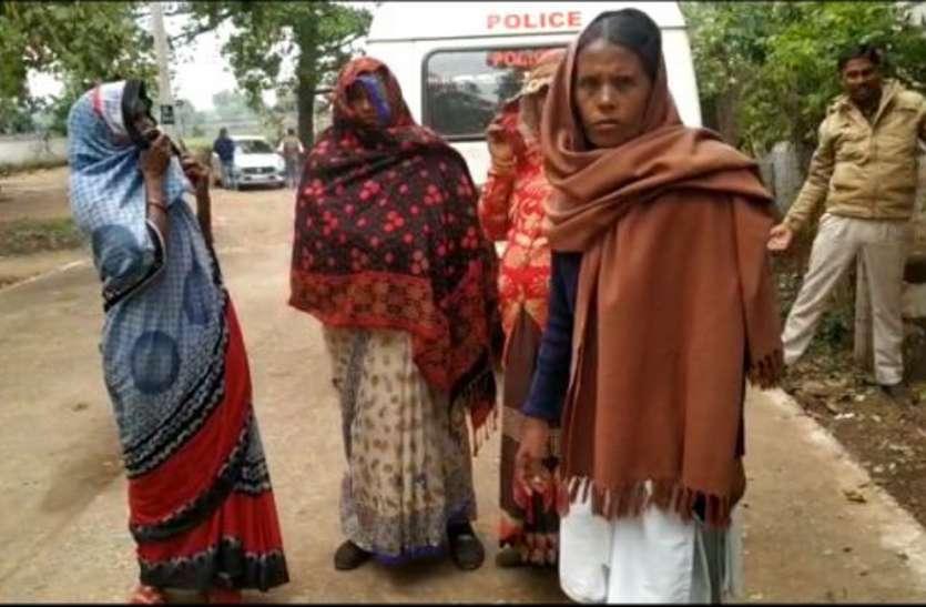 सर्राफा दुकानों में ठगी करने वाली तीन महिलाओं को पुलिस ने पकड़ा