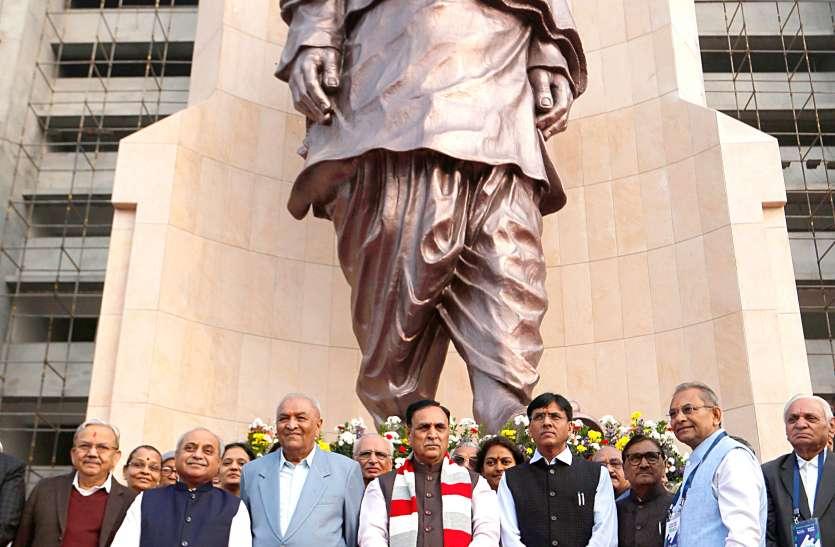 Gujarat:  विश्व की दूसरी सबसे बड़ी Sardar Patel की Statue का अनावरण