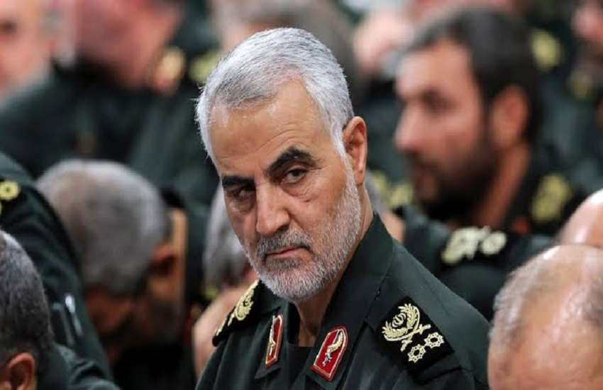 ईरान के शीर्ष सैन्य कमांडर कासिम सुलेमानी