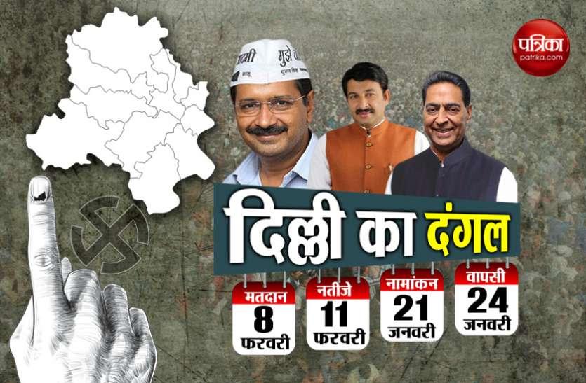 दिल्ली में चुनावी शंखनाद, अधूरे वादे बढ़ा सकते हैं केजरीवाल सरकार की मुश्किल