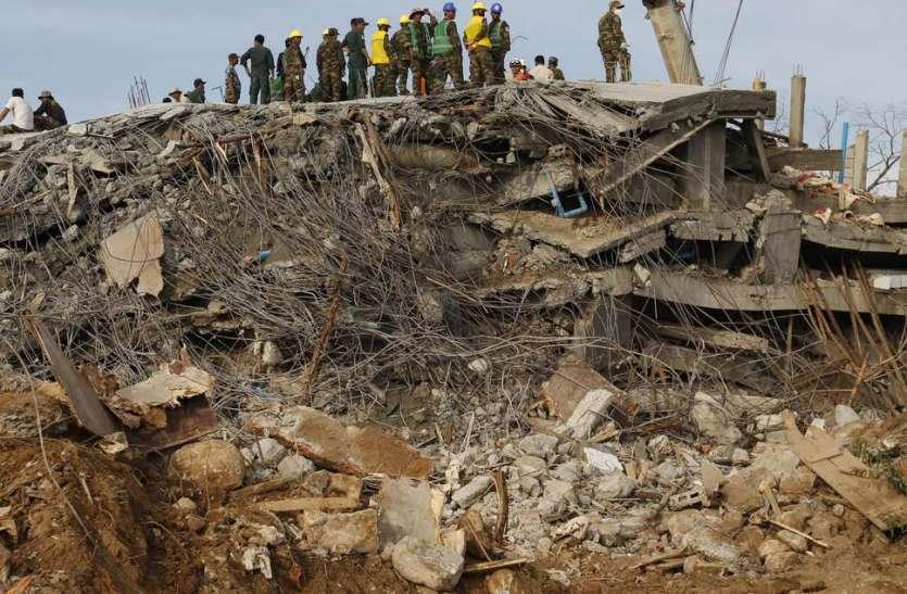 कंबोडिया: इमारत गिरने से 36 लोगों की मौत, सरकार ने पीड़ितों के लिए मुआवजे का किया ऐलान