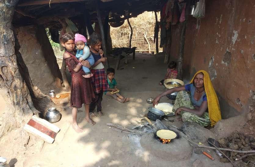 सात बच्चों को पालती मां, सरकारी मदद को तरसी