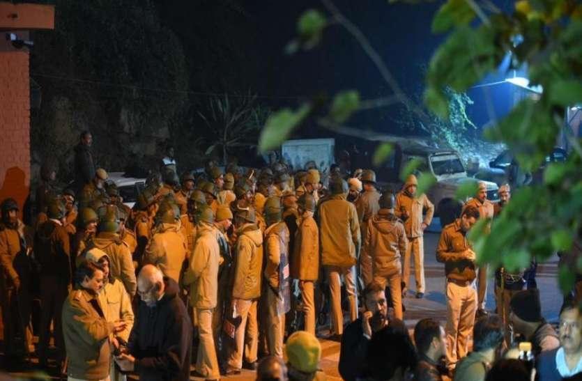 JNU प्रशासन ने HRD मंत्रालय को भेजी रिपोर्ट, हिंसक घटना के बारे में दी डिटेल जानकारी