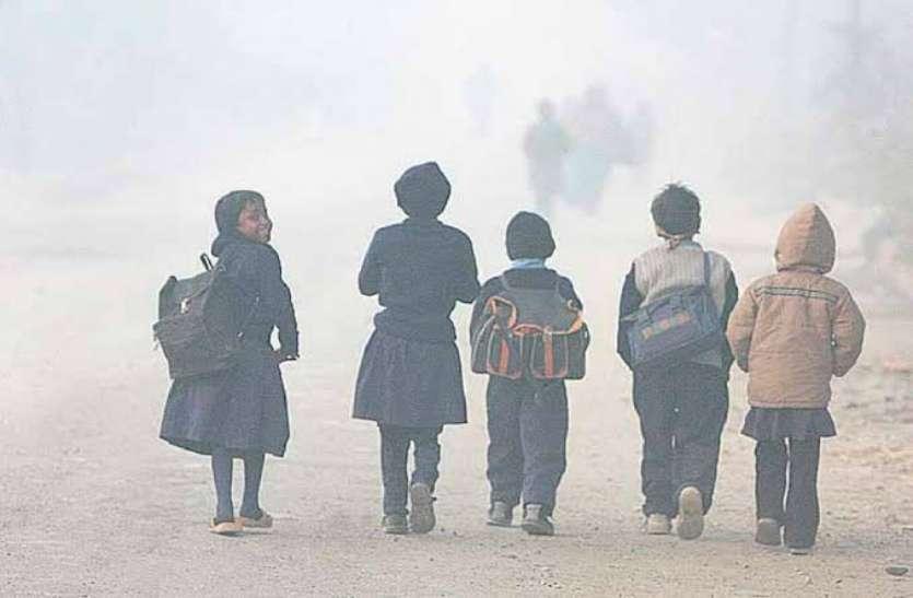 यूपी में कोल्ड फ्रंड ने बढ़ायी ठंड, स्कूलों में 8 जनवरी तक छुट्टियां बढ़ीं, नया आदेश जारी