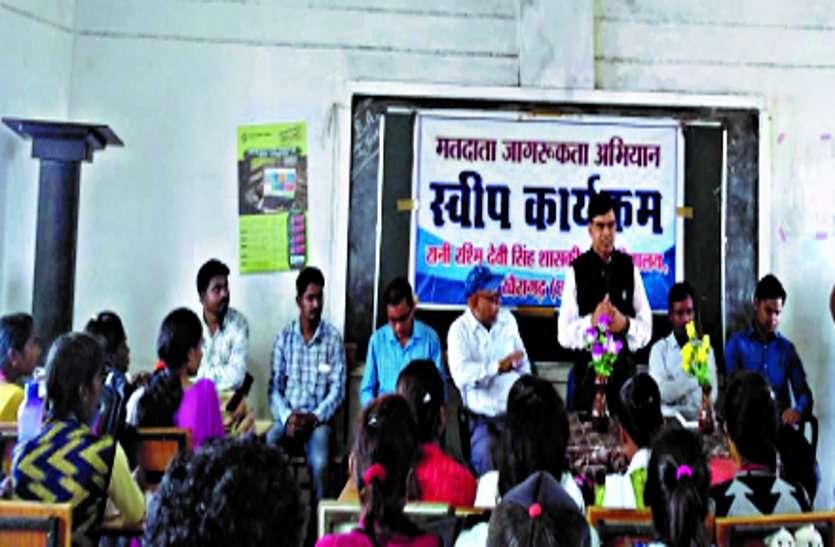 पोस्टर स्पर्धा में मनीष, भाषण में गंगा सिंह, वादविवाद में लक्ष्मी रजक को प्रथम स्थान