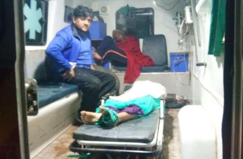 चंबल नहर में गिरी जीप, महिला जनपद सदस्य की मौत, दो घायल