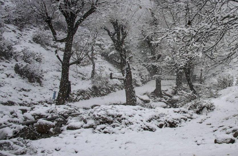 फिर मौसम ने मारी पलटी, लद्दाख-कश्मीर में बर्फबारी, जम्मू में बारिश ने भिगोया