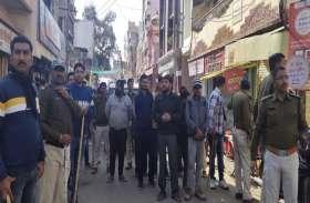 साख बचाने के लिए पुलिस ने निकाले मामूली गुंडो का जुलूस