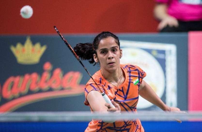 मलेशिया मास्टर्स बैडमिंटन : सिंधु के बाद सायना भी अंतिम आठ में हारीं