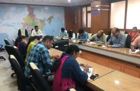 हिंदी आलेख प्रतियोगिता का आयोजन