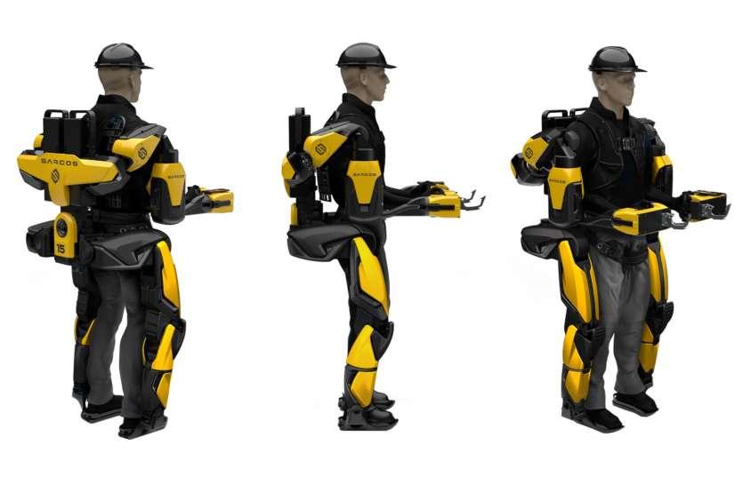 रोबोटिक सूट जो सुरक्षाकर्मियों को बना रहा 'सुपरमैन'