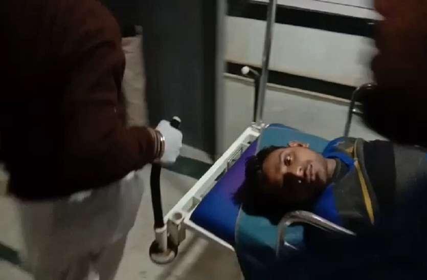 Moradabad: नगर निगम पार्षद उपचुनाव में भाजपा कार्यकर्ता को कांग्रेस कार्यकर्ताओं ने मारपीट कर किया घायल