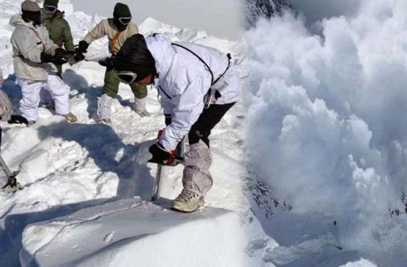 मौसमः बर्फीले तूफान में फंसे जवान, घाटी में हिमस्खलन से 5 लोगों की मौत