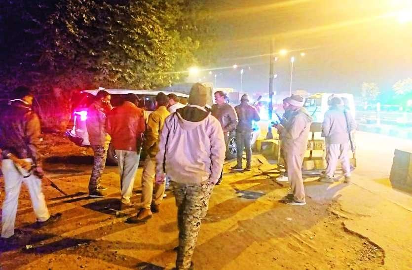 एसपी ने वायरलेस सैट पर दिया मैसेज, हत्या कर लग्जरी गाड़ी लूटकर भाग रहा है बदमाश