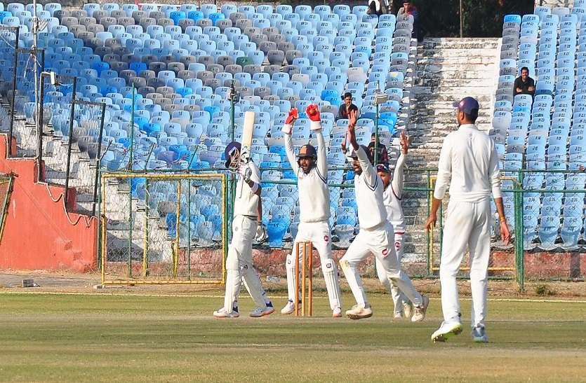 रणजी सत्र :राजस्थान को तीन अंक