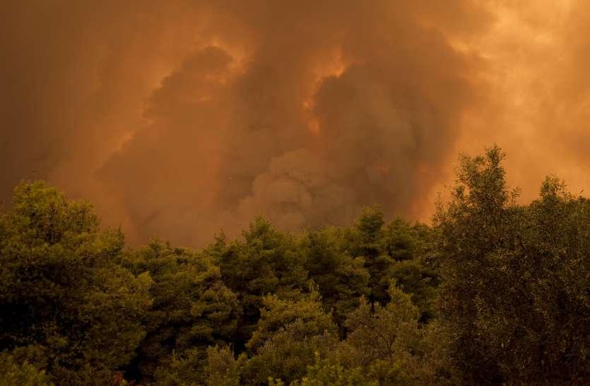 Australia fires : ऑस्ट्रेलिया में लगी आग के धुएं से उड़ानें प्रभावित
