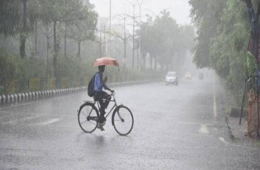 प्रदेश के इन इलाकों में होगी झमाझम बारिश, मौसम विभाग ने किया अलर्ट