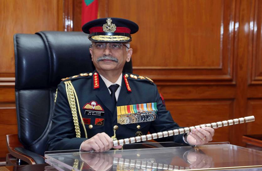 आतंकवाद पर बोले नए सेना प्रमुख नरवने, आतंकवाद के प्रति शून्य-सहिष्णुता
