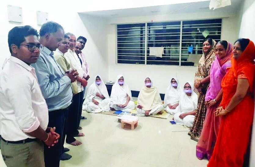 साध्वी कंचन प्रभा का मर्यादा महोत्सव गांधीनगर में