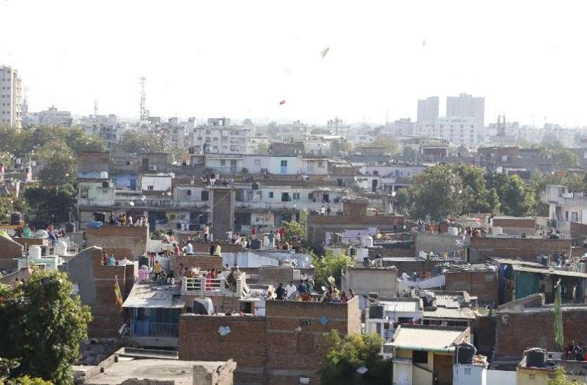Gujrat News : पतंगों से अटा रहा आसमान