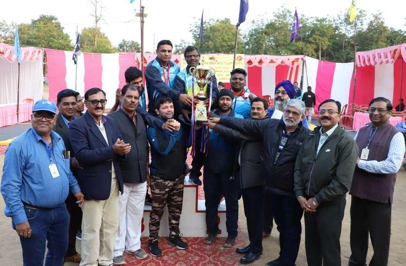 पंजाब स्टेट पावर कार्पोरेशन चार स्वर्ण पदक जीत कर विजेता बना