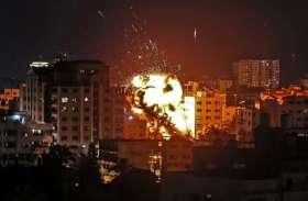 इजरायल ने सरिया के एयर बेस पर देर रात रॉकेट से किया हमला