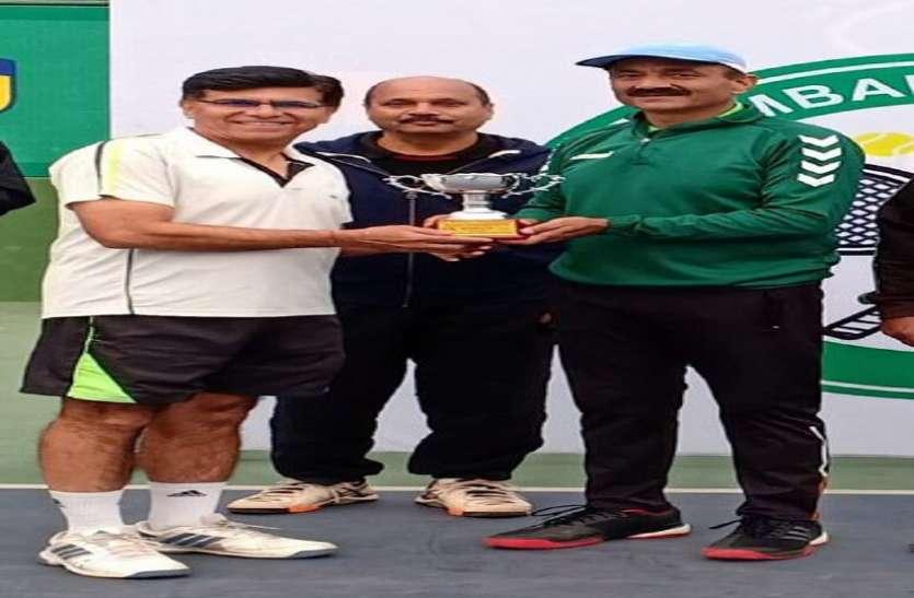 फाइनल में हार गए अजय उपाध्याय