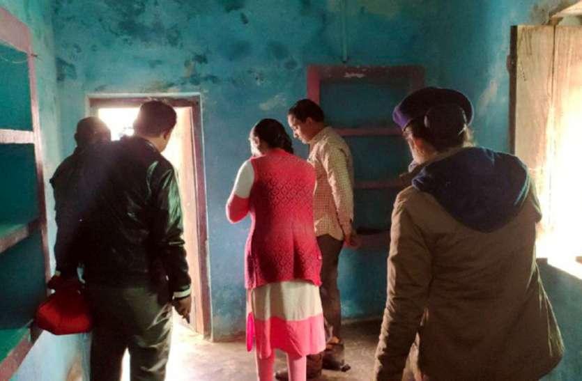 सीधी शहर में अधजला शव मिलने के बाद हड़कंप, कई दिनों से बंद कमरे में हुई वारदात, किरायेदार फरार