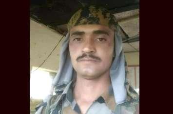 राजस्थान: नागौर निवासी सैनिक रामेश्वर लाल चौधरी शहीद, ड्यूटी के दौरान आया था हिमस्खलन