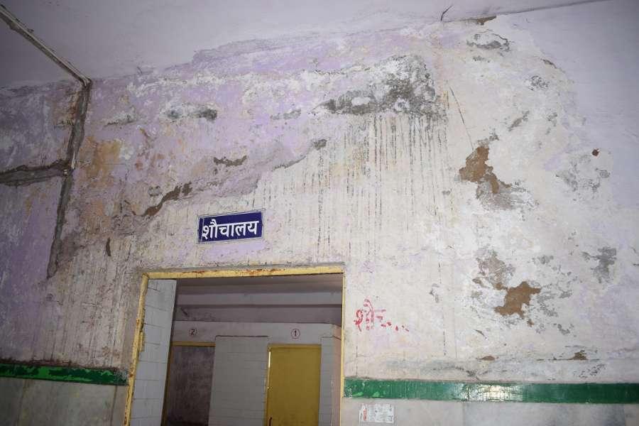 poor condition of washrooms at MDM hospital of jodhpur